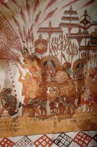 Procession, Mucukunda Murals, Tiruvarur.